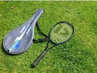 Adult tennis racquet with case. Very good condition