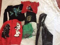 Boys clothing ages 5 to 13 top quality brands jackets fleeces jeans some never worn