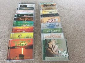 20 Irish CD's all Irish music including river dance
