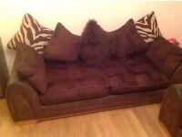 DFS 4 Seater Sofa X 2