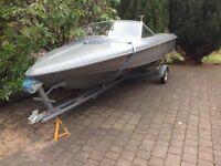 Fletcher 10 Speedboat For Sale £850