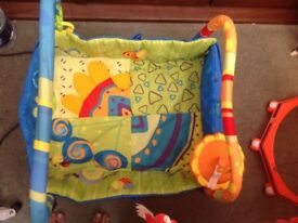 Colourful baby play mat
