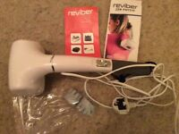 New Reviber Zen Physio massager with infrared hear