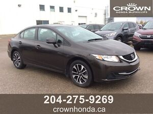 2013 HONDA CIVIC EX - ONE OWNER, LOCAL TRADE - REMOTE STARTER!