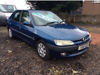 PEUGEOT 306 *FULL YEARS MOT* 1.4 PETROL IDEAL FIRST CAR LOW MILES EXCELLENT CONDITION RUNS GREAT!!!!