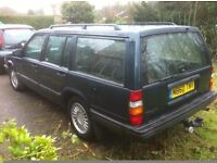VOLVO 940 2.4 PETROL ESTATE 7 CHAIRS ONE OWNER FROM NEW MINT