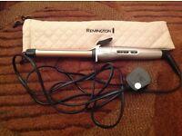 Remington Keratin Therapy Hair Curling Iron Tong