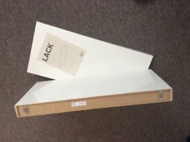 Ikea Lack Shelving - Unused