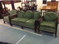 Antiquated Bergere chairs : FREE Glasgow delivery