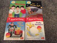 Biff, Chip & Kipper read at home books