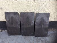 "Roofing Slates 13""x 7"" second hand in excellent condition approximately 1,300 25p each."