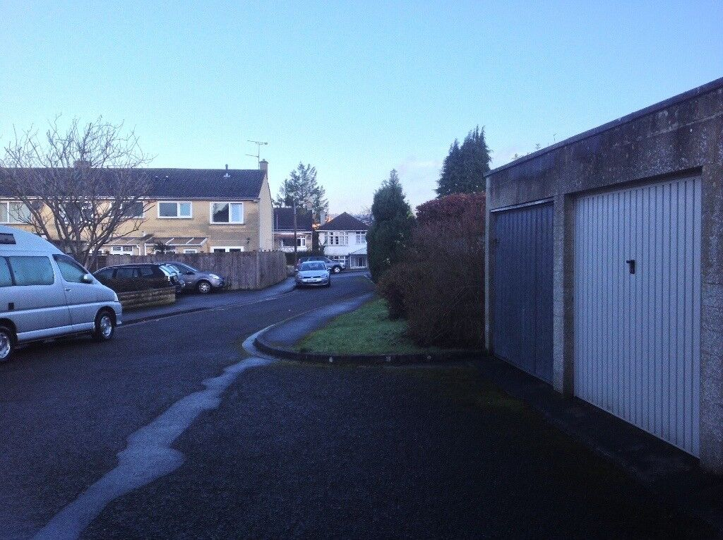 Garage to let. Secure and dry. One of four garages facing houses in a cul de sac.