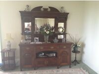 A quality mahogany dining room Sideboard/Dresser for sale