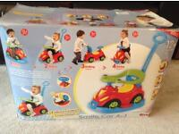 New/Excellent Condition Rocker, push along, ride on car