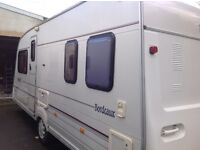 Bailey Bordeaux 4berth fixed bed caravan