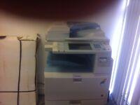 Richo MPC2050 Colour Printer & 2 Toner Cartridges