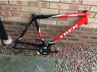 Trek bike frame,forks,brakes,gears,derailleurs