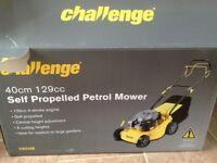 Petrol Lawnmower Callenge