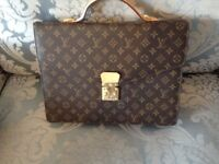 Louis Vuitton canvas monogram briefcase