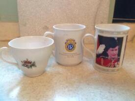Queen coronation cups