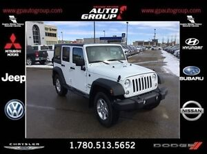 2016 Jeep WRANGLER UNLIMITED Sport | LOW KMS | Offroad Capabilit