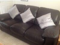 Leather sofa +1+1