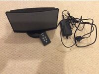 Black Bose docking station