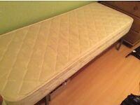 Small Single Bed Spare room Caravan