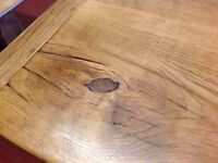 Victorian Solid Oak 8.5ft refectory table