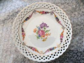 German 'Schumann' Tea Plate - see both photos