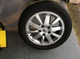 Renault Megane Alloy - 205 by 55R16 91h