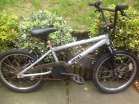 Kids bmx style bike