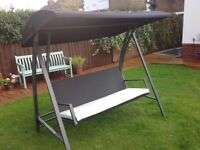 Garden 3 seater swing chair