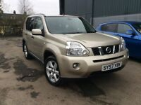 2008 Nissan X-Trail Sport 2.0 Dci Massive Service History Stunning 4x4 FIN ANCE!