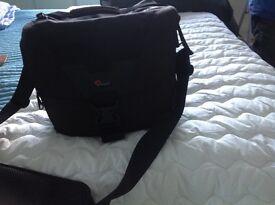 Stealth reporter camera case
