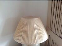 Silk Ivory Lamp Shade - NEW