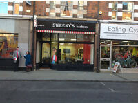 BARBER REQUIRED (Ealing Broadway West London)