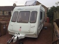 Compass Rallye GTE 2000 Special Edition Caravan – with awning & everything needed for use