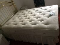 Double Bed & Headboard.