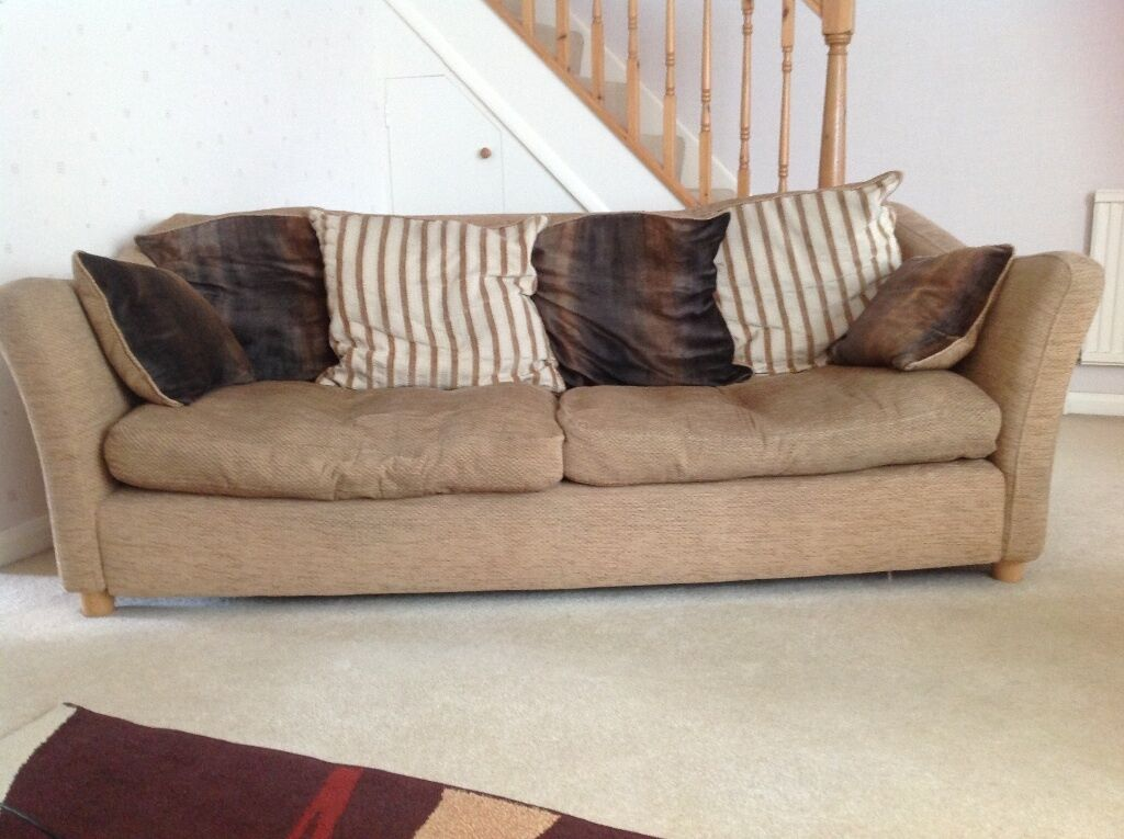 Three Seater And Two Seater Sofa From Dfs In Farnborough