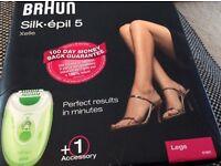 Brand new Braun Silk - Epil 5