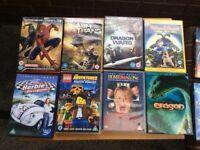 Children's DVD'S thirteen DVD's including Star Wars Clone Wars