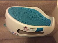 Angelcare Soft Touch Bath Support - Aqua, baby bath seat