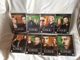 CSI Las Vegas seasons 1-8 boxsets