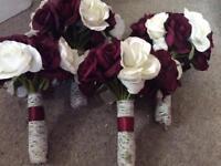 x4 Bridesmaid bouquets