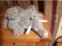 Large Elephant hand puppet