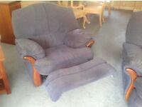Manual blue sofas & armchairs
