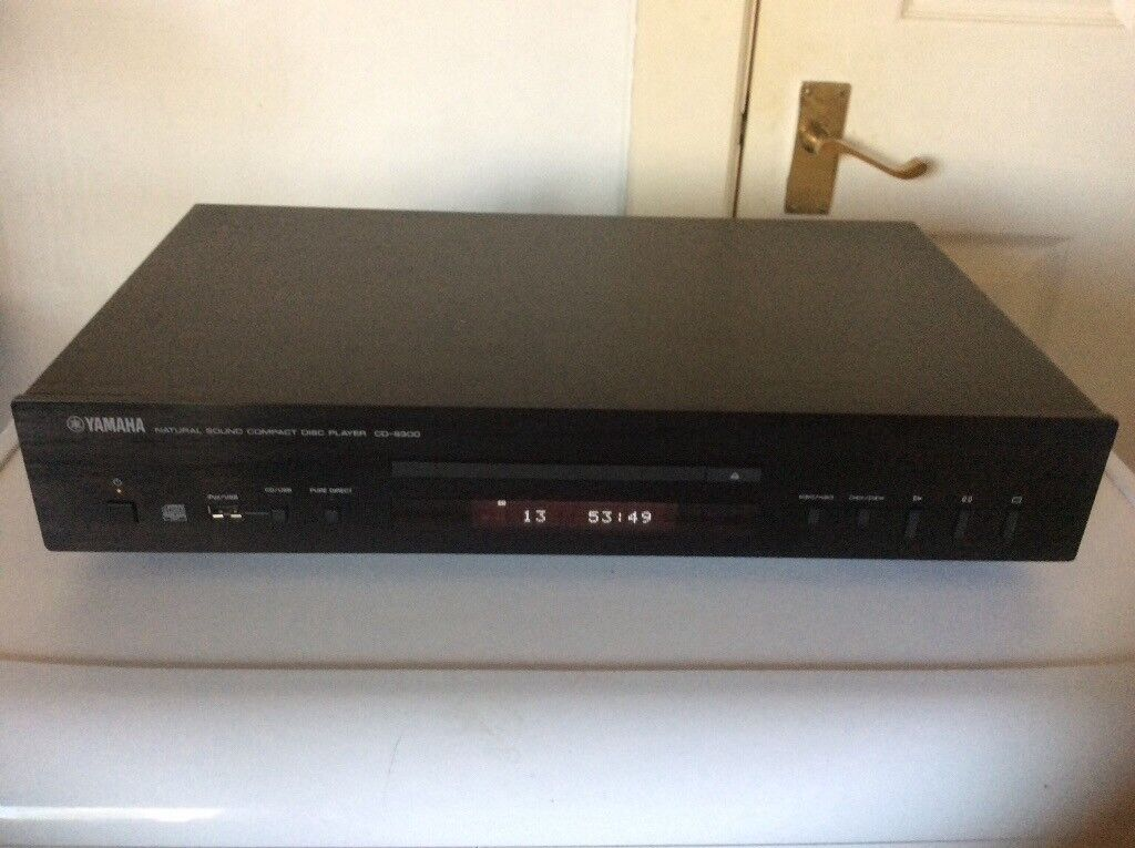 yamaha cd s300 cd player with remote and manual in. Black Bedroom Furniture Sets. Home Design Ideas