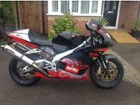 APRILIA RSV 1000 Mille, 2001 fully loaded in excellent condition part exchange possible