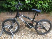 Boys BMX Bike, hardly used, very good condition